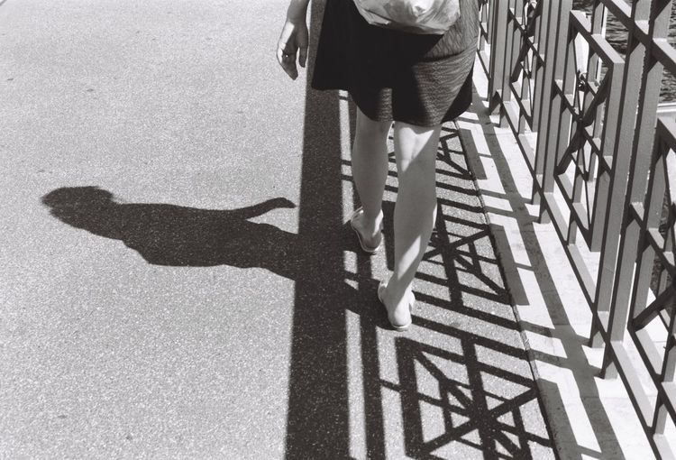 Adult Adults Only Day Focus On Shadow Human Body Part Human Leg Lifestyles Low Section Outdoors People Real People Shadow Sunlight Walking
