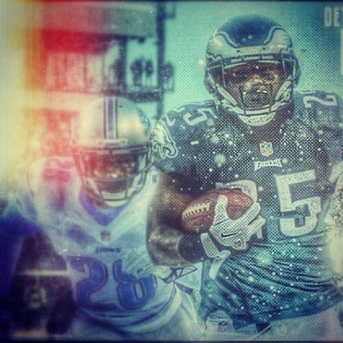 Good win Shady... Good win... Shady Shadymccoy Phillyvsdetroit PhiladelphiaEagles philly eagles wewilltakethedub