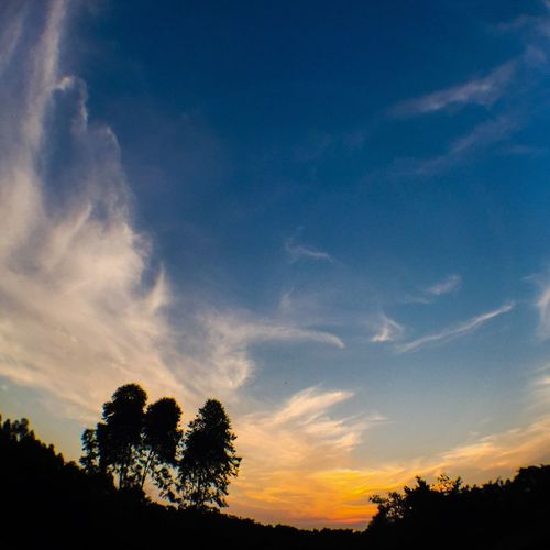 Sunset Landscape Zhongshan Guangdong China