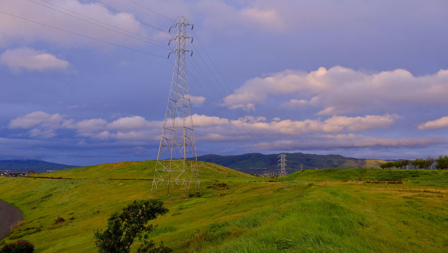 Bayarea Bayareaphotography Cloud Cloud - Sky Cloudy Connection Distant Electricity  Electricity Pylon Environmental Conservation Exploring Fremont Fuel And Power Generation Landscape Low Angle View Milpitas No People Outdoors Power Line  Power Supply Remote Santa Clara Sky Technology Tranquil Scene