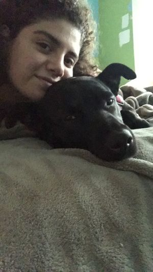 pup, my girlfriend hates me and i want to die :)