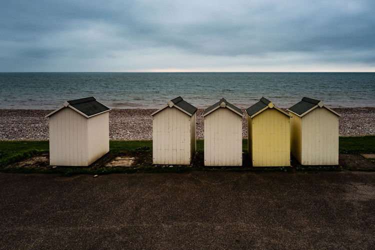 Budleigh Salterton Budleigh Salterton Architecture Beach Beachphotography Beauty In Nature Built Structure Cloud - Sky Day Horizon Over Water Nature No People Outdoors Sand Scenics Sea Seascape Shore Sky Tranquil Scene Tranquility Water