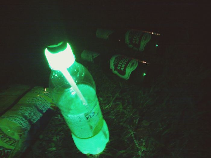 Stellaartois Night Lights Night Night Photography Green Green Color Light And Shadow Light Sprite