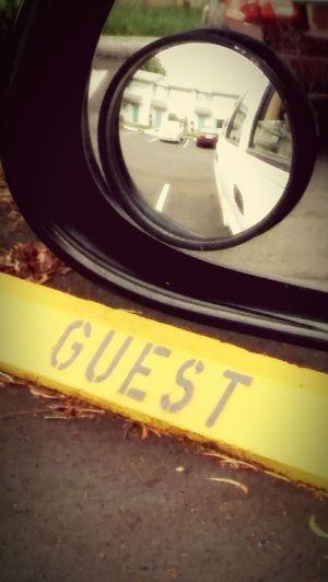Rearview Guestparking Dontgettowed Blindspot Mirrorshot Mirrors