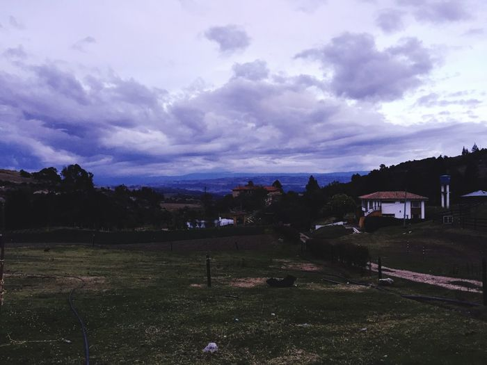 Sky No People Nature Beauty In Nature Landscape Grass Tunja
