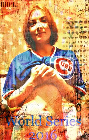 Baseball SexyGirl.♥ Sexyselfie💖 Team World Series 2016 Chicago Cubs ❤ Cubs2016worldserieschampions Beauty Praying To Win Smiling 71 Yrs Later Sports Looking At You Girl Portrait Fun With Filters Cubs Fans Chicago ♥ Beautiful Woman Champions 2016 Blue And Red World Series Fans Art ✨🌼Tisa🌼✨