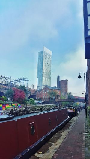 The Great Outdoors - 2017 EyeEm Awards Skyscraper Sky City Architecture Urban Skyline Building Exterior City Life Cityscape Downtown District Outdoors Modern Day No People Manchester UK Click Click 📷📷📷 Clear Sky Beauty In Nature Eyem Sell The Street Photographer - 2017 EyeEm Awards Live For The Story