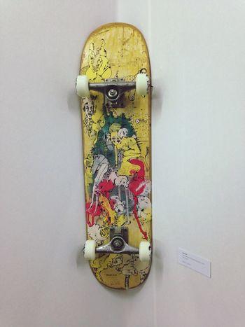 Deck no.4, Peer Kriesel, Koje A0.20 Skateboarding Art Kunst Art Fair