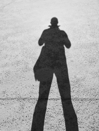 B&w Street Photography Bag Gravel Walk Shadow Taking Photos Cool Shades