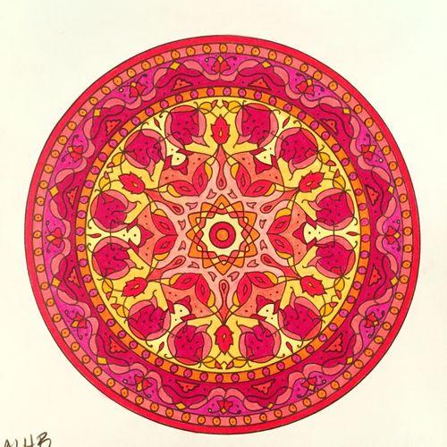 Hello World Relaxing Enjoying Life ❤ Mandala Art Coloring Mandalas!  Coloring Mandala Draw Drawing Coloreando EyeEm Nature Lover Peaceful Relaxing