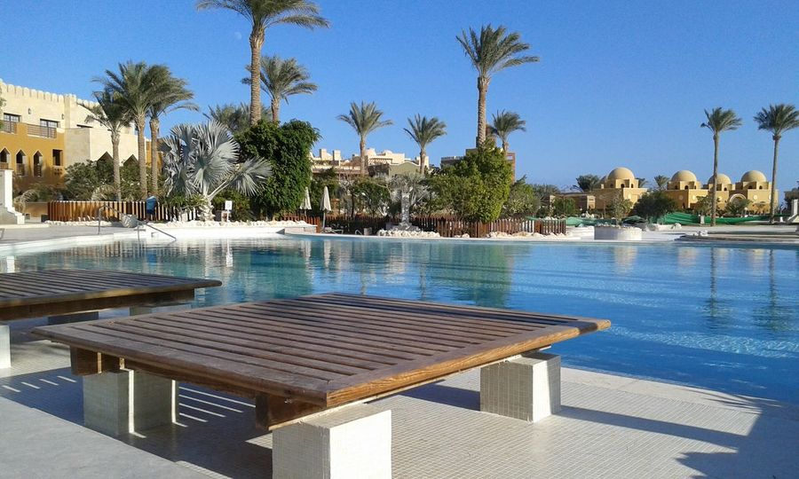Relax Empty Sunbeds Sunbed Sunwing Waterworld Makadi Egypt Tranquility Iloveegypt Traveltheworld The EyeEm Facebook Cover Challenge Swimming Pool At The Hotel Travel Water_collection Ladyphotographerofthemonth Makadi_bay The Purist (no Edit, No Filter). No People Egyptian Hotel