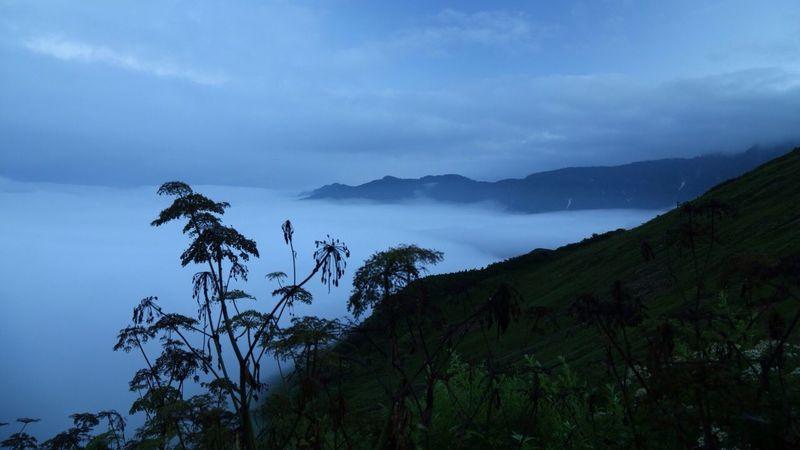 Sea Of clouds 雲海 Landscape EyeEm Nature Lover Take Photos Tadaa Community Bulue Sky Mountains