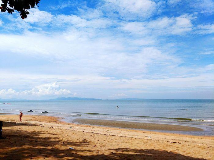 Sea Beach Cloud - Sky Sky Water Day Nature