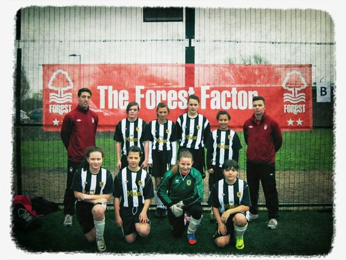 football tournament 3rd Kimberley Comp Notts County Football Girls