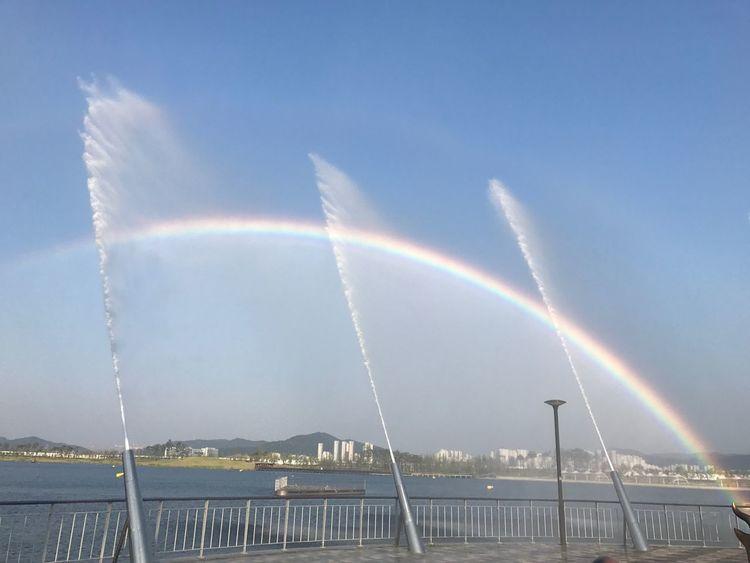 무지개 강 Rainbow River Fountain First Eyeem Photo