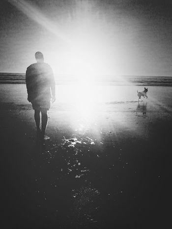 we walk.., she jump
