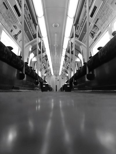 Traveling Travel Photography Blackandwhite Point Of View Check This Out Taking Photos Enjoying Life Underground Tube Stanmore Jubilee London LONDON❤ Alone Ground Level View IPhoneography Parallel Parallel Lines