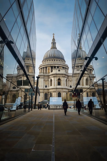 Travel Destinations Architecture City Tourism Dome Built Structure Glass London Windows Reflection Cathedral St Paul's Cathedral EyeEm LOST IN London