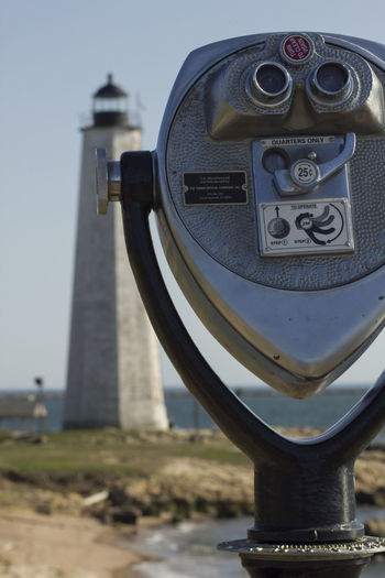 Coin-Operated Binoculars At Lighthouse Point Park