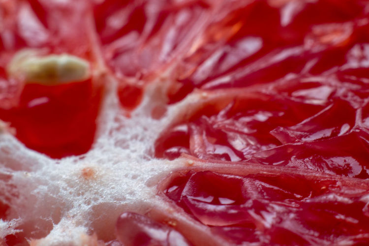 Close-up Extreme Close-up Food Food And Drink Freshness Fruit Grapefruit Healthy Eating No People Red SLICE
