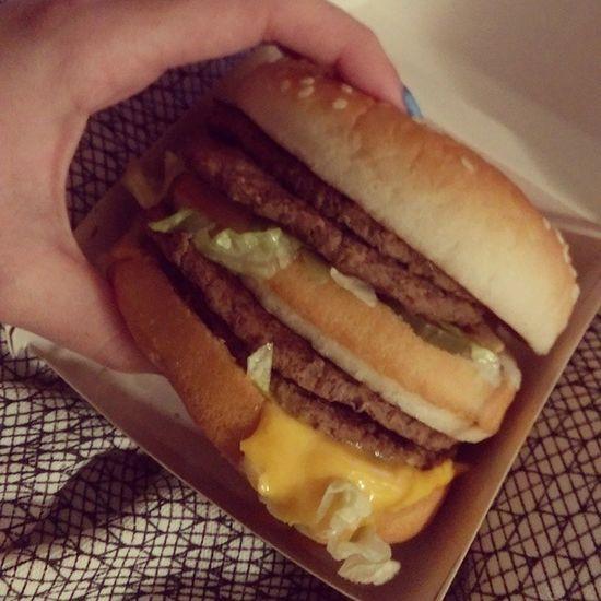 Mcdonalds MegaMac Megasick Megafat Whydidieatthis Themostdisgustingfoodporn Food JUNKFOOD