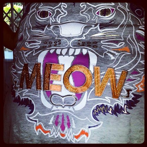 Cotton On Meow Hipster Sweater Kitty Meeoooow Fashion Item epic wild colours killer campus
