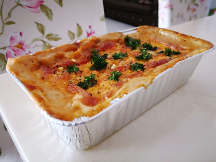 Chicken Lasagna Chicken Lasagna EyeEm Selects Food Food And Drink Italian Food Baked Pizza Unhealthy Eating Savory Food Ready-to-eat Meal