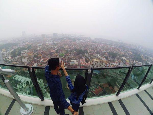 Beauteous view 💕 SkyTower The Shore  Melaka Malaysia Love