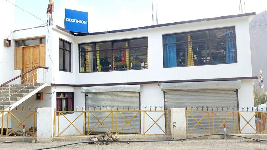 World's Highest Decathlon Shop Spiti Valley India Kaza Sports Shop