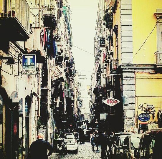 vie del centro Napoli Naples Centro Storico Di Napoli Via Tribunali Urban Vicoli EyeEmNewHere