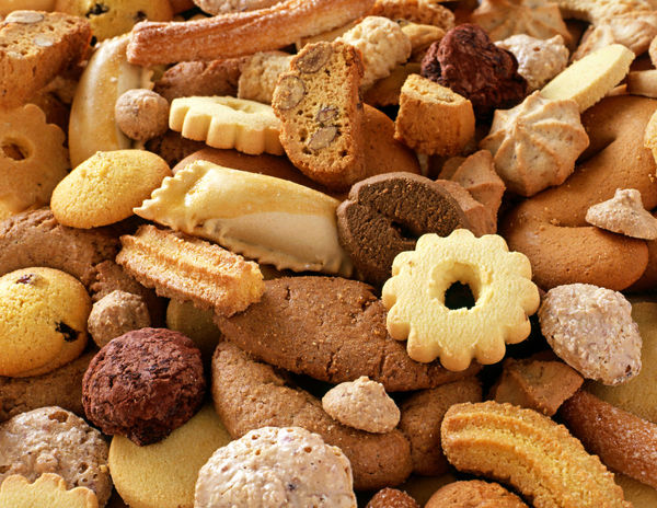 A culinary background of assorted crunchy fresh biscuits for teatime or dessert Cookies Dessert Biscuits Cookie Food Food And Drink Freshness Still Life Sweet Food Teatime