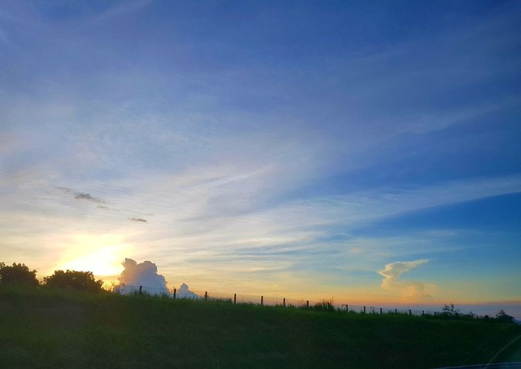Architecture Beauty In Nature Building Exterior Built Structure Cloud - Sky Day Field Grass Landscape Nature No People Outdoors Rural Scene Scenics Silhouette Sky Sunset Tranquil Scene Tranquility Tree