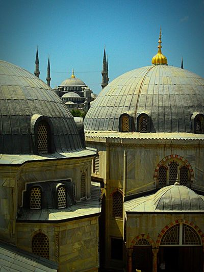 Rooftops of Istabul. Turkey Türkiye Istanbul Asian Culture Europe Ottoman Architecture