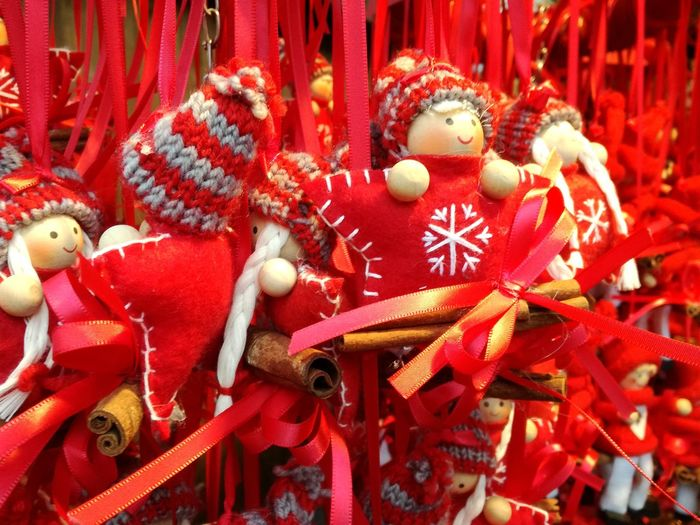 Christmas Celebration Tradition Christmas Decoration Red Cultures Holiday - Event Hanging Christmas Ornament No People Christkindlmarkt X-mas Is In The Air🎄🎅 Chtistmas Season Spirit Of Christmas christmas market Reindeer Snowflake
