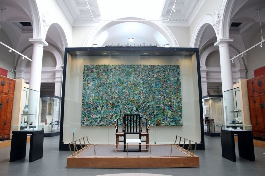 V&A museum Architecture Art Art Collection Art Gallery ArtWork Building Chair Culture Day Decorative Art Design Exhibition Indoors  London Modern Museum Museums No People Painting Pattern Permanent Collection South Kensington Symmetry Travel Victoria And Albert Museum