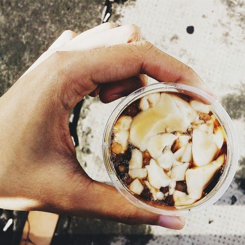 Morning ritual. Taho Philippines Food Foodphotography Street Photography Street Food Worldwide