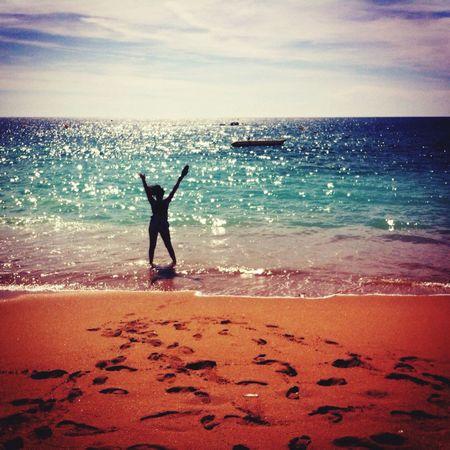 Portugal Beach Sunset Beautiful Sand Girl Hello World Enjoying Life That's Me Amazing