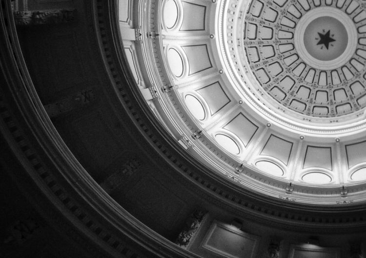 Cupola of texas state capitol