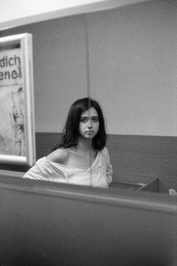 35mm Film Analogue Photography Blackandwhite Face Film Girl Portrait Portrait Of A Woman Sad Sadness