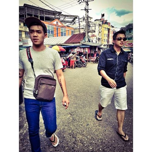 Walking in Jambi CIty Candid