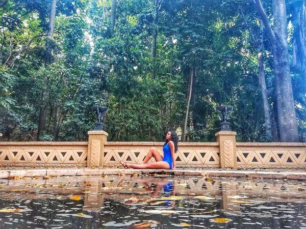 Water One-piece Tree Adventure One Person Friend Blue EyeEmNewHere EyeEmNewHere