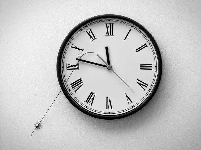 Time Clock Wall
