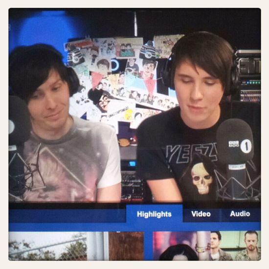 Dan And Phil Danisnotonfire  Amazingphil