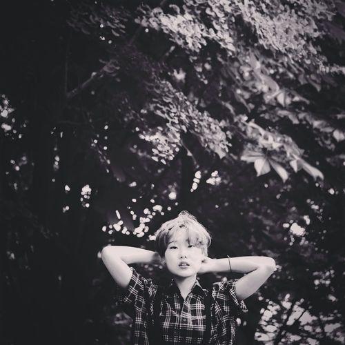 Woman Portrait Black & White Photograph
