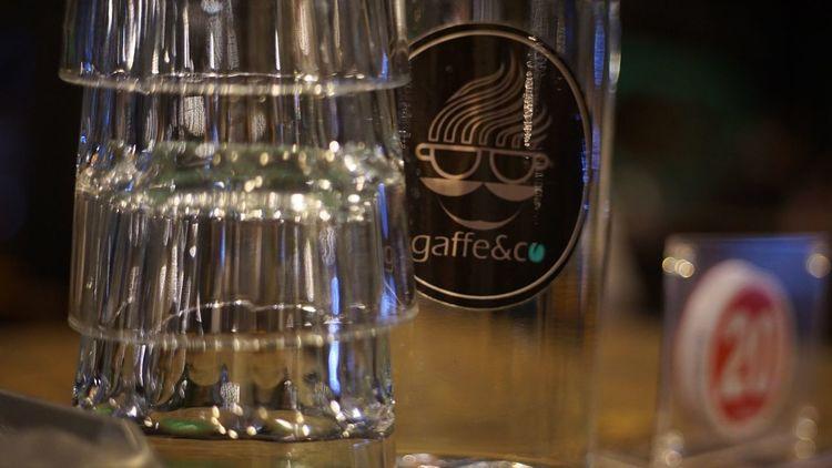 Anniversary dinner Cafe Anniversary Dinner Indoors  Transparent Drinking Glass