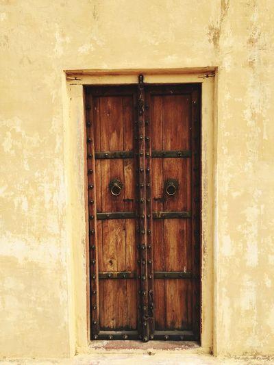 Wooden door and