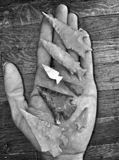 When i was young, maybe six , my parents took me and my littlebrother to find arrowheads, since 1986 ive been on the hunt, heres a few ive found in tire tracks at the lake. Arrowheads Eye4photography  Whiskey Blackandwhite