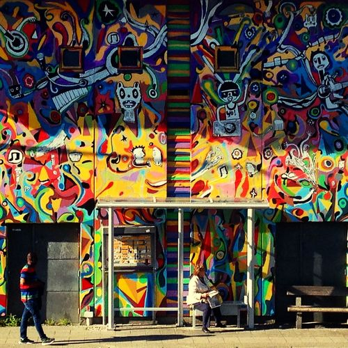 Check This Out Hello World Colors Streetphoto_color Norway,Haugesund
