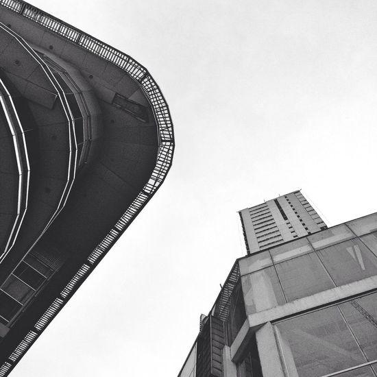 Persfective Building Architecture Blackandwhite Jakarta