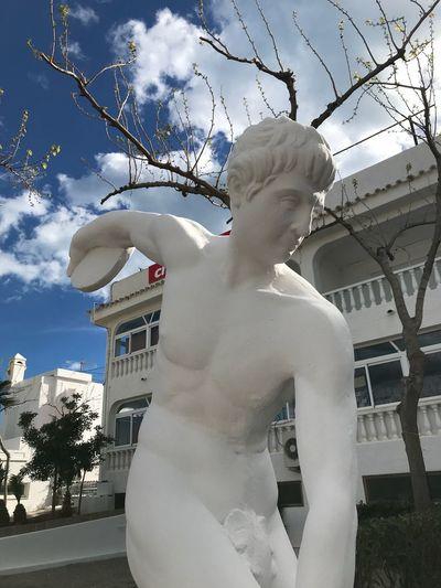 Statue Sculpture Human Representation Male Likeness Art And Craft Creativity Female Likeness Outdoors No People